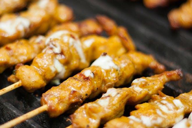11. Chicken satay sticks