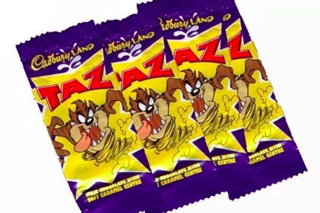 Taz bar retro sweets