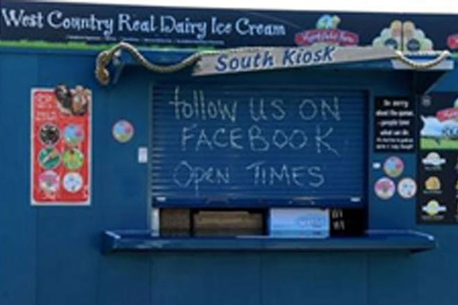 A Facebook post from a cafe in Suffolk