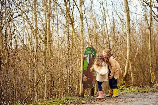 Gruffalo hunting at Sherwood Pines