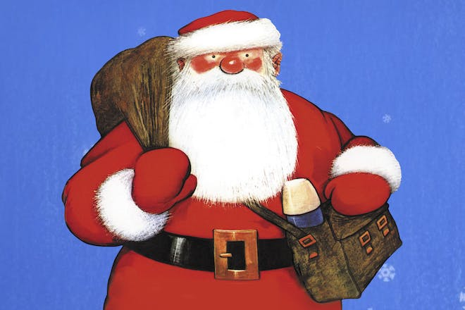 Watch the stage version of Raymond Brigg's classic, Father Christmas, at home this year