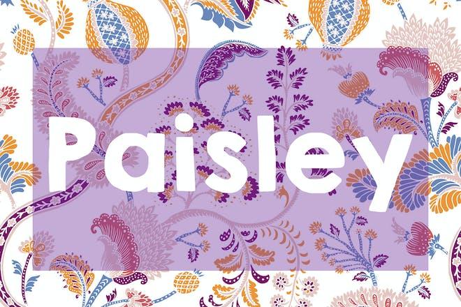 Paisley name