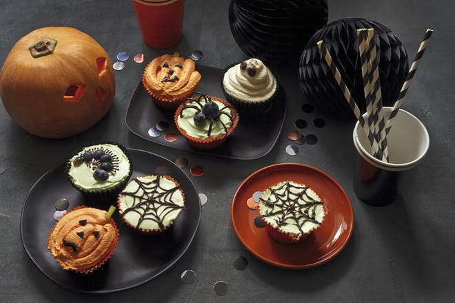5. Pumpkin and ginger cupcakes