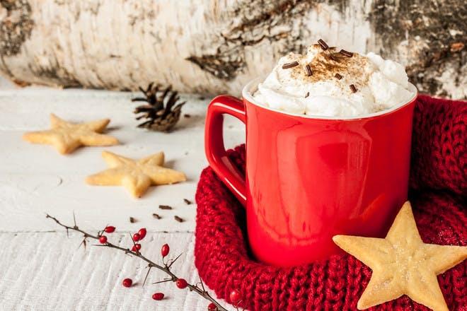 Enjoy some warming drinks