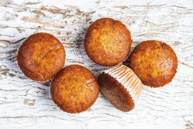 Sugar-free banana muffins for kids