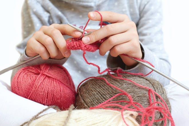 54. Do some knitting