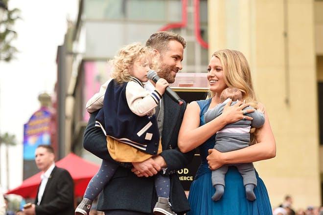 Blake and Ryan Reynolds