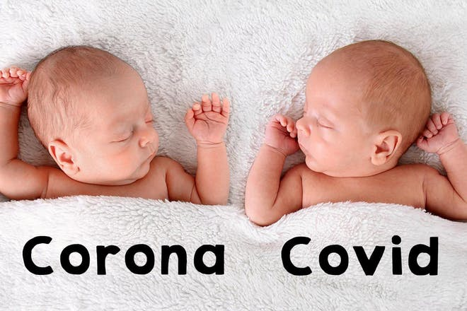 20 baby names inspired by coronavirus (you know it'll happen)
