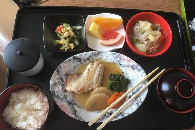 Mum shows amazing hospital food she was served after giving birth in Japan