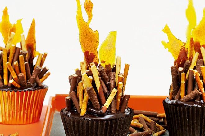 Bonfire cupcakes recipe