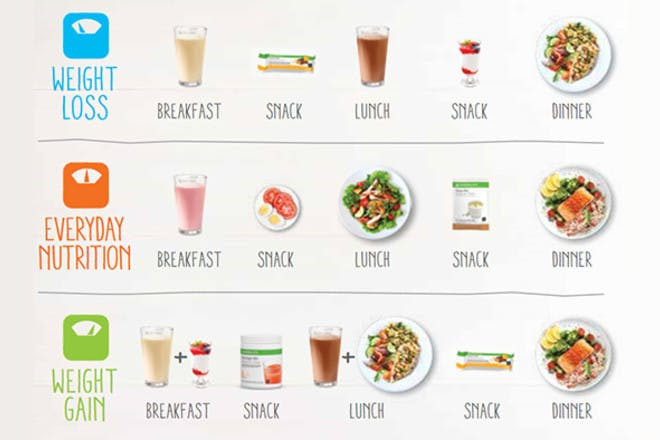 what to eat on herbalife diet