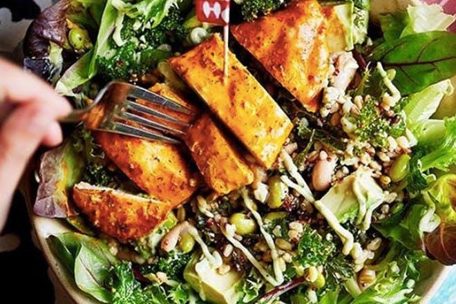 4. Supergrain salad