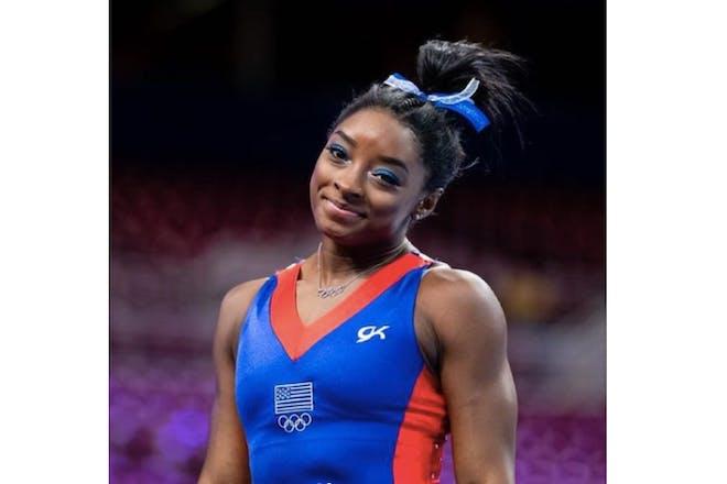 Simone biles at the 2021 Olympics