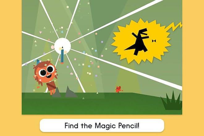 Screenshot from Artie's magic pencil