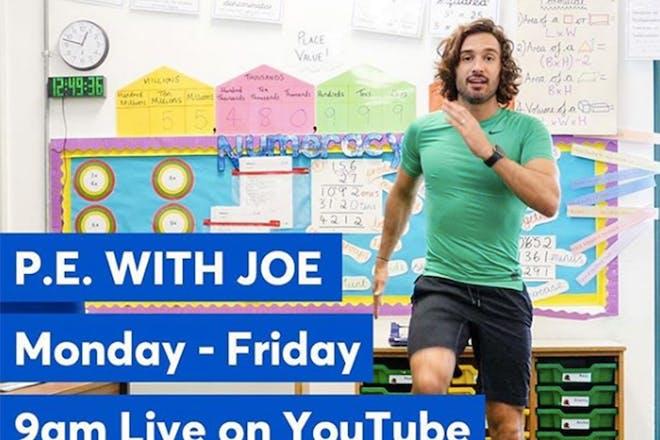 Joe Wicks PE lessons
