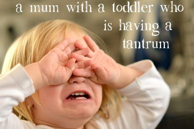 child crying