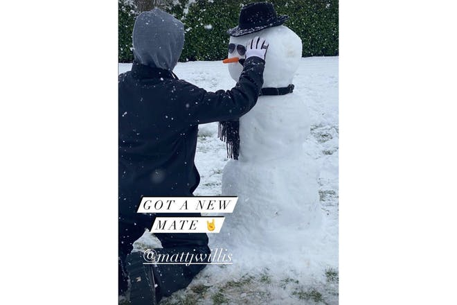Emma Willis snow