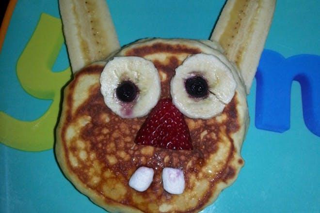 bunny pancake fail