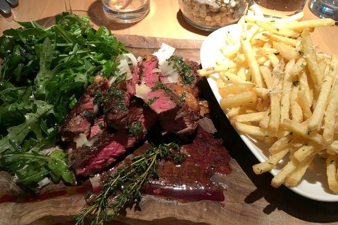 Mouthwatering steak