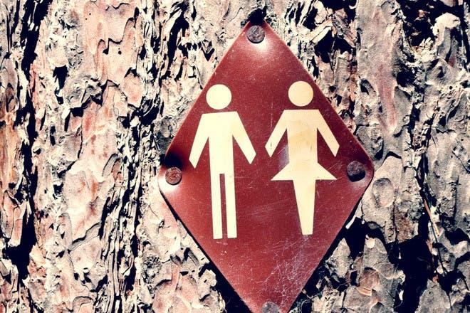 14. Toilet trip
