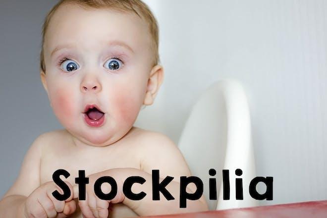 Stockpilia baby name