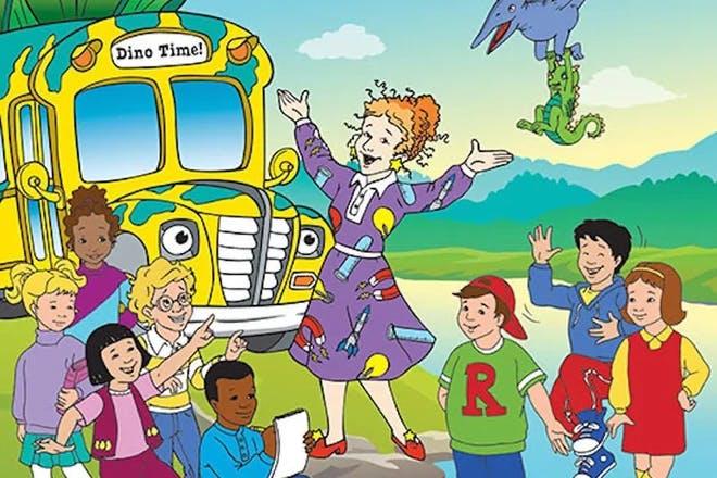 16. The Magic School Bus