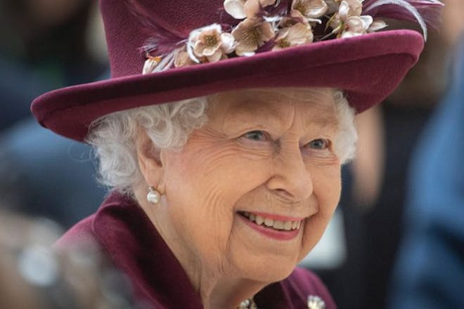 the Queen age 95