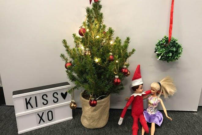 9. Mistletoe Elf