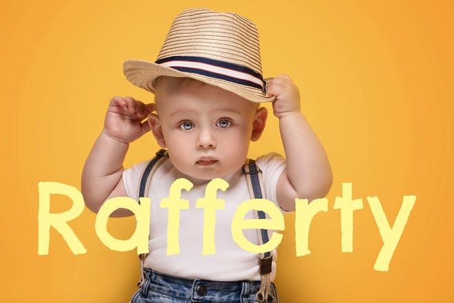 Baby name Rafferty