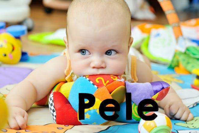 Pele baby name