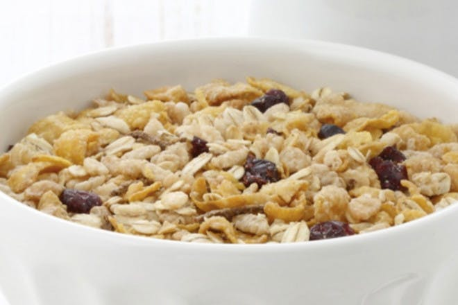 52. Nutty cereal