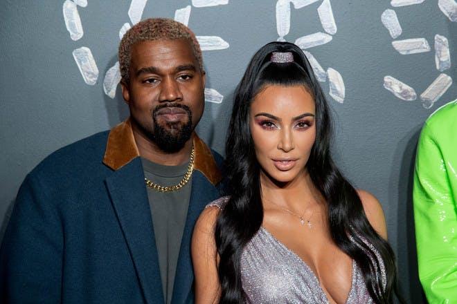 20. Kim Kardashian and Kanye West