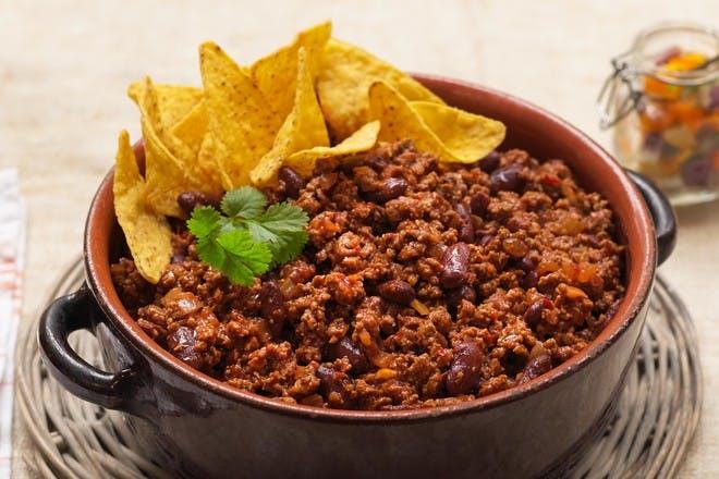 Quick Quorn chilli con carne recipe