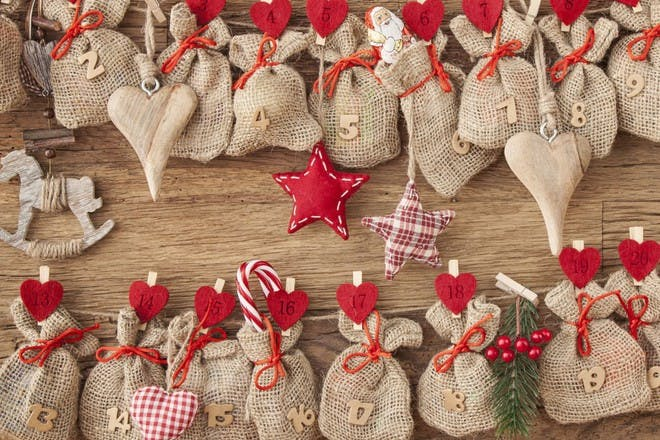 hessian sacks advent calendar