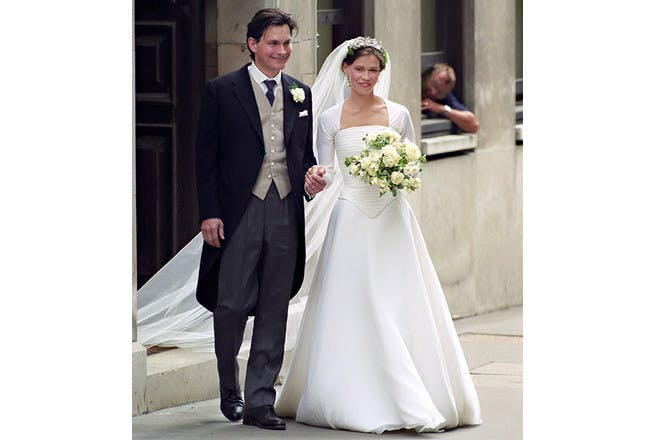 10. Lady Sarah Chatto – the dress