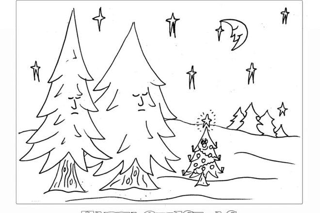christmas cards to print and colour in netmums christmas cards to print and colour in