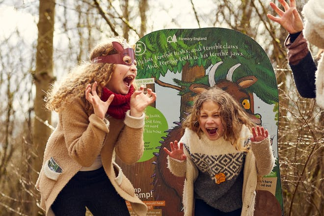 The Gruffalo Trail at Salcey Forest