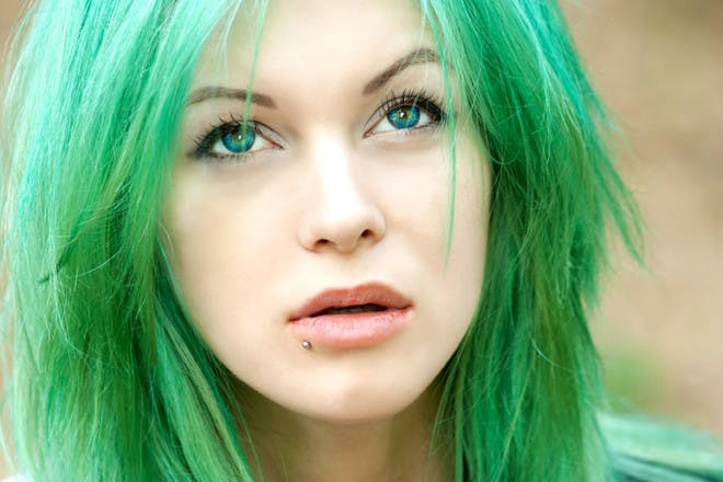17. Dyed your hair bright colours