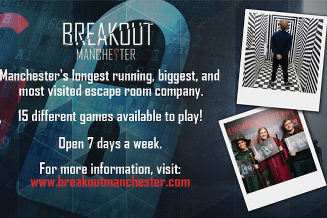 Promo for Breakout Manchester