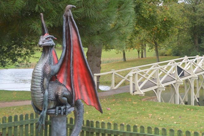 Dragons at Painshill Park, Surrey