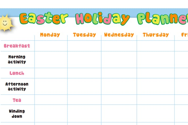 Print our planner