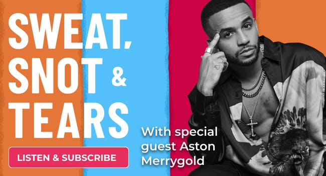 Aston Merrygold on Netmums' Sweat, Snot and Tears podcast
