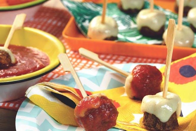 quorn cheesy meatballs