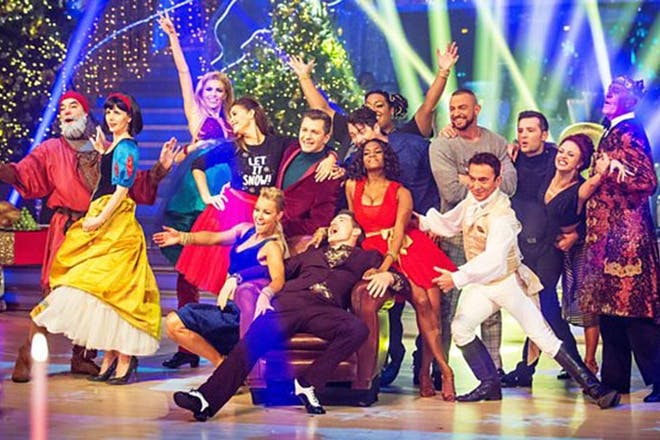 25. Strictly Come Dancing's Christmas Special
