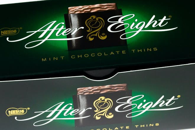 After Eight mints
