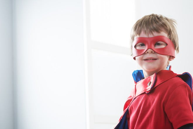 76. Make superhero masks