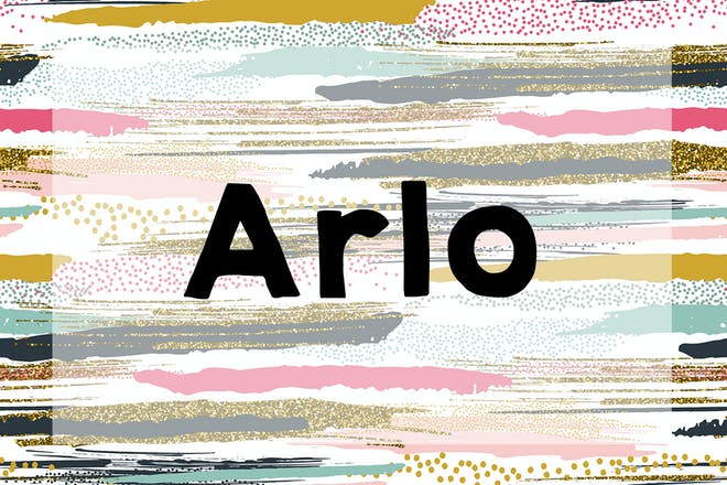 Arlo name