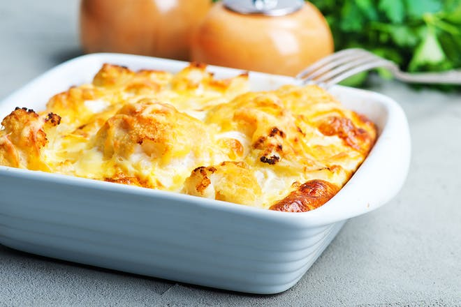Cheese and potato bake