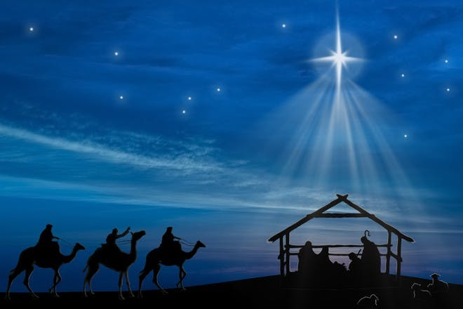 Nativity pictures to print and colour in