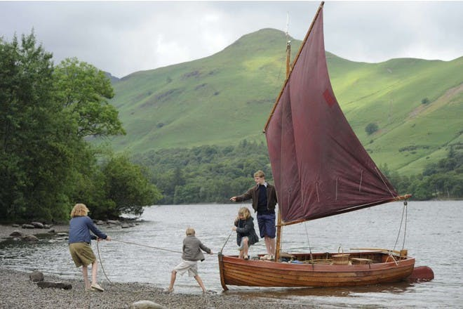 Family in Lake District